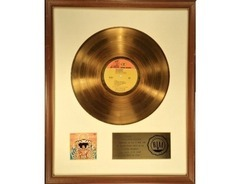RIAA Gold Sales Award - Jimi Hendrix - Axis: Bold as Love
