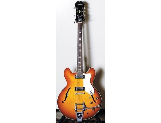 Vintage 1963 Epiphone Riviera Electric Guitar Reviews